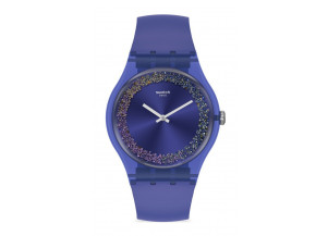 Swatch Purple Rings SUOV106